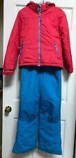 L.L.Bean Girls snow suit, jacket size 8, pants blue size10, insulated