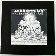 LED ZEPPELIN Burns Like A Candle LIVE Concert Wendy/TMOQ 4-tr Reel To Reel tape