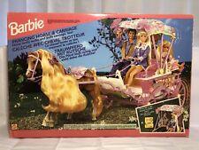 New ListingVery Rare Barbie Prancing Horse and Carriage Nib - 1994