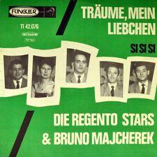 """7"""" REGENTO STARS & BRUNO MAJCHEREK Träume mein Liebchen FUNCKLER 1965 like NEW!"""