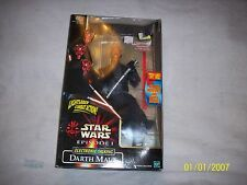 "Star Wars: Episode 1 Darth Maul Electronic Talking Figure 12""  Hasbro"