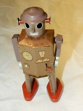 RARE Atomic Man Robot Tin Toy 1940's Original