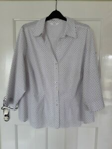 Ladies Lovely Blouse By Marks and Spencer's Sz 24