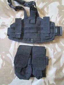 PANTAC M4 Drop Leg mag POUCH holster knife survival TACTICAL molle army BLACK