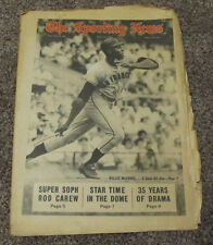 July 13, 1968 The Sporting News Willie McCovey San Francisco Giants MLB Baseball