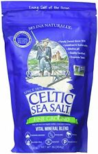Fine Ground Celtic Sea Salt 1 16 Ounce Resealable Bag of Nutritious Classic