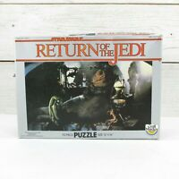 Star Wars Return of the Jedi 70 piece puzzle complete Jabba the Hutt Throne Room
