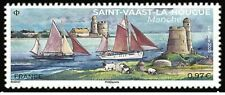 France 2020 Saint-Vaast la Hougue Manche boat ship lighthouse phare faro 1v mnh