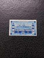 """Italy #267 MH, 1931 1.25 lira """"Naval Academy,"""" Scott Catalog Value $ 24.00"""