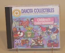2000 Dakota Collectibles Embroidery Software CD-ROM Children's Entertainment 20