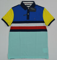 NWT Men's Tommy Hilfiger Short-Sleeve THCOOL Cotton Polo Shirt  XL
