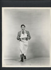 JOHN GARFIELD PHOTO BY LONGWORTH FOR HOLLYWOOD CANTEEN - 1944 WWII MORALE EFFORT