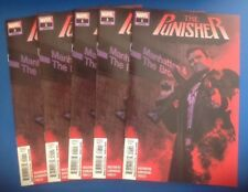 THE PUNISHER #1 LOT OF 5 ALL FIRST PRINT MARVEL 2018