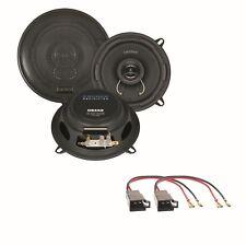 Crunch DSX52 2 Wege Lautsprecher Boxen System Einbauset für Twingo Türen vorne
