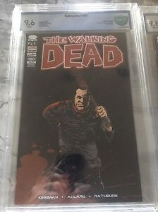The Walking Dead #100 Second 2nd Print CBCS 9.6 1st Negan Lucille Death Of Glenn