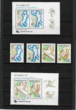 Briefmarken Süd Korea 1985 KR 1421, 1422, 1427, 1428 olymp. Spiele,  postfrisch