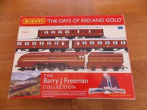 HORNBY THE DAYS OF RED & GOLD TRAIN PACK LMS 6239 CITY OF CHESTER + 3 COACHES