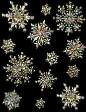 Prismatic Sparkle Snowflake Window decorations Frozen Party Decorations