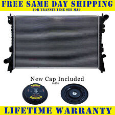 Radiator With Cap For Ford Lincoln Fits Edge Mks Mkx Taurus X 3.5 3.7 2936WC