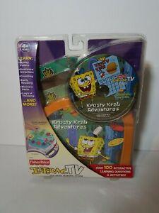 Krusty Krab Adventures (Sponge Bob) Fisher-Price Interactive DVD NEW / Sealed