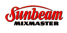 Replacement Decal for Vintage SUNBEAM MIXMASTER Mixer