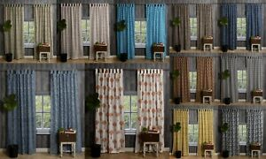 Indian Cotton Door Curtain Tapestry Hand Block Printed Window Curtains Valance