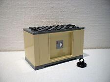 LEGO® Eisenbahn Container beige  für 3677, 7898, 7938, 7939 - City - NEU 2