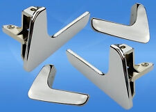 4x SEAT IBIZA CORDOBA DOOR PULL HANDLE LATCH HANDLES FOR LEFT-RIGHT 1998 - 2003