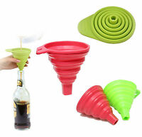 Silicone Foldable Small Kitchen Funnel UK Seller Fast & Free Dispatch