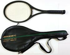 Dunlop John McEnroe Limited 4 1/2 Mid-Size Graphite Tennis Racket with Cover