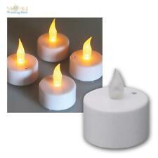LED Teelichter, 4/12/20/40er Set, Luftzugsensor zum An- und Auspusten, Kerzen