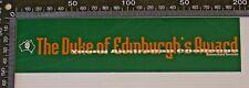 DUKE OF EDINBURGH'S AWARD YOUNG AUSTRALIAN CHALLENGE PROMO BUMPER STICKER DECAL