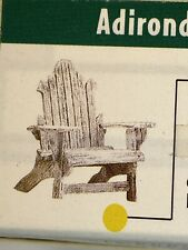 Take A Seat by Raine 'Adirondack c.1940 Chair' i#24006 1999*Willits Nib No Coa