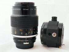 pre-AI Nikon Micro Nikkor 105 mm f/4 with PN-1 Extension Tube