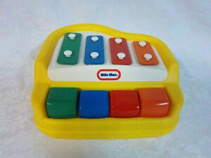 "Little Tikes Yellow Large Key Toddler Musical Toy 8.5"""
