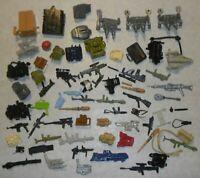 Lot ARAH GI Joe 1983-1993 Original Gear Accessories Weapons Parts 1980s *BROKEN*