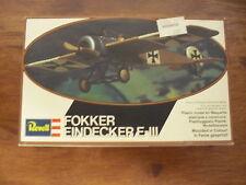 Revell 1/72 model kit Fokker Eindecker E-III reference number 4111