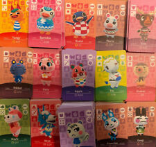 Fan Made NFC NS Animal Crossing Horizons Amibo Cards Series 1-4 Never Scanned