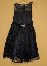 GOOD GIRL USA Flower Girl Dress / First Communion Dress. Size 8 Blue