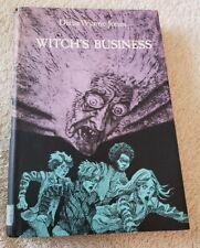 Diana Wynne Jones-Witch's Business,1st Amer. ed. of author's 1st fantasy
