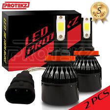 9005 9006 LED Headlight Kit Combo Low High Beam Plug&Play Turbo CoolFan 6500K