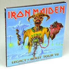IRON MAIDEN Live Rock In Rio Brazil 4Oct2019 Legacy Of The Beast Tour 2CDDigipak
