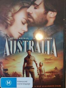 AUSTRALIA 2008 DVD Drama Hugh Jackman Nicole Kidman FREE POSTAGE