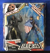 Marvel Legends ULTIMATE NICK FURY & ULTIMATE CAPTAIN AMERICA 2-Pack NEW