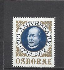 1753a-VIÑETA 200 ANIVERSARIO DE LAS BODEGAS OSBORNE 1772-1992.RARA ENOLOGIA
