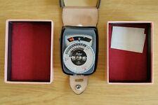 Gossen Sixtar Hand Held Photographic Light Meter in Presentation Box Working