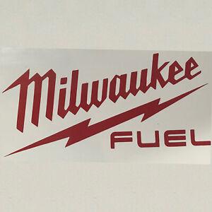 Milwaukee Tools Vinyl Cut Sticker Car Hammer Saw Drill Impact Fuel Drill M12 M18