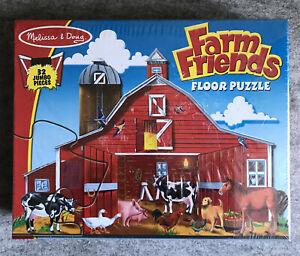Melissa & Doug Farm Friends Floor Puzzle - 2 ft x 3 ft - New / Sealed