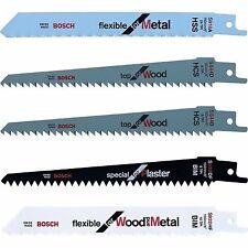 Bosch KEO / Florabest Garden Saw Replacement 5 Blade Set Wood, Metal, Plaster