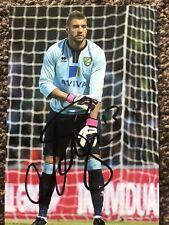 MARK BUNN (Ex Norwich & Aston Villa ) GOALKEEPING FOOTBALLER SIGNED 6 X 4 PHOTO.